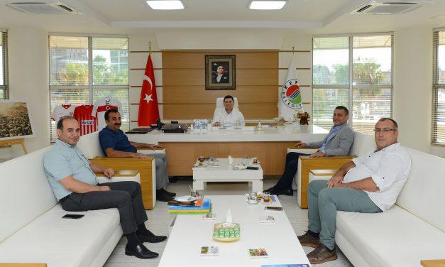 ATSO 7. Grup Meslek Komitesi Başkan Tütüncü'yü Ziyaret Etti