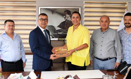 41.Grup'tan Ticaret İl Müdürü Dizerkonca'ya ziyaret