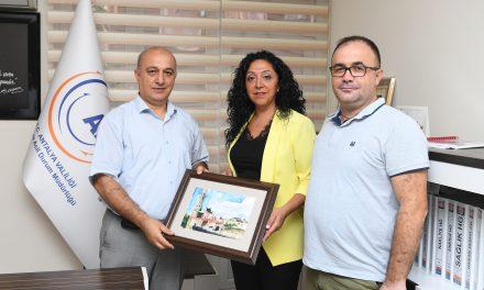 Eğitimciler, İl Afet ve Acil Durum Müdürü Fevzi Timur'u Ziyaret Etti