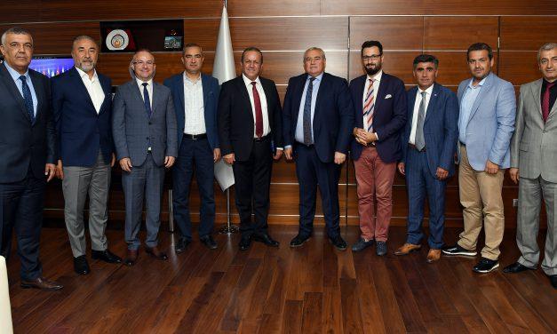 Bakan Ataoğlu ATSO'yu ziyaret etti