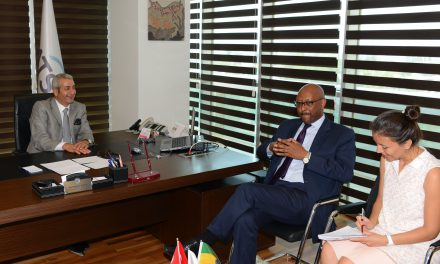 ATSO Etiyopya Büyükelçisini ağırladı