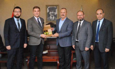 3.Grup Meslek Komitesi BAİB Başkanı Bahar'ı ziyaret etti
