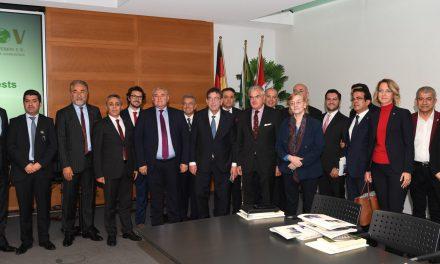Antalya İş İnsanlarının Almanya Temasları Devam Ediyor