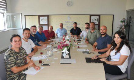ATSO 1. ve 15. Grup'tan Ortak toplantı