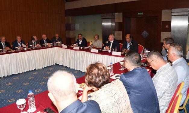 Türk – Arap Odası Yönetimi ATSO'da