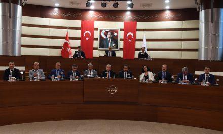 ATSO Eylül Ayı Meclis Toplantısı Yapıldı