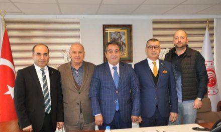 ATSO Gayrimenkul komitesinden Ticaret İl Müdürü'ne ziyaret