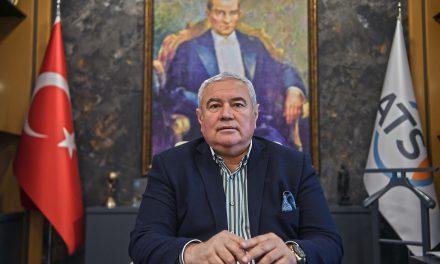 ATSO Başkanı Davut Çetin'in yeni yıl mesajı