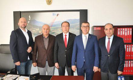 ATSO Gayrimenkul Komitesi Muratpaşa Tapu Müdürünü Ziyaret Etti