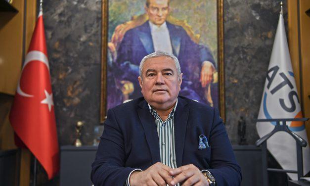 ATSO Başkanı Davut Çetin'den Nisan Enflasyonu Değerlendirmesi