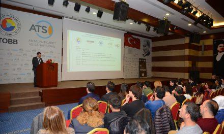 Antalyalı KOBİ'ler e-ihracat eğitimi aldı