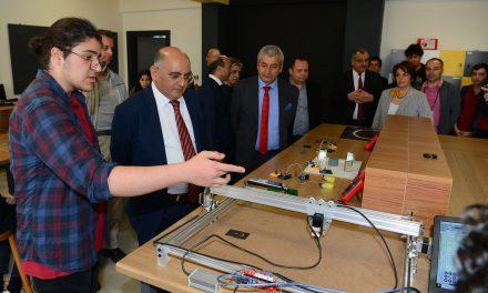 """Antalya TOBB Fen Lisesi """"Tasarım Beceri Atölyesi"""" Açıldı"""