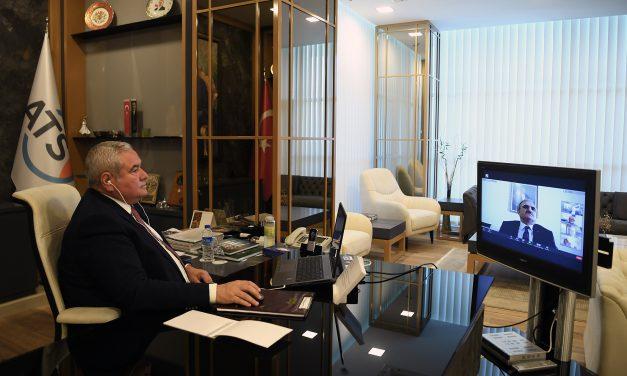 Vali Karaloğlu ATSO Meclis'inin konuğu oldu