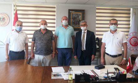 ATSO 41. Grup Meslek Komitesi Üyeleri, Ticaret İl Müdürü Halil Özşahan'ı ziyaret etti