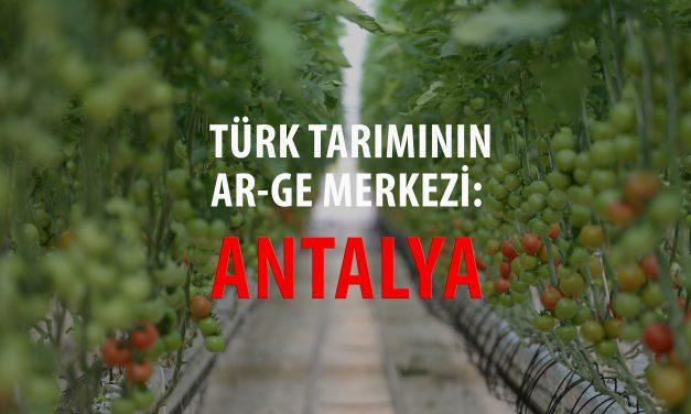 TÜRK TARIMININ AR-GE MERKEZİ: ANTALYA