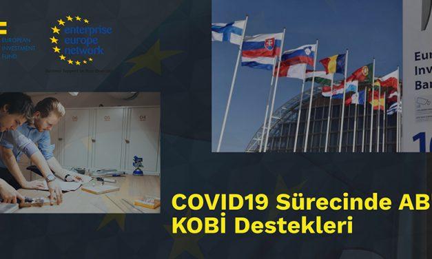 COVID-19 SÜRECİNDE AB'DE KOBİ DESTEKLERİ