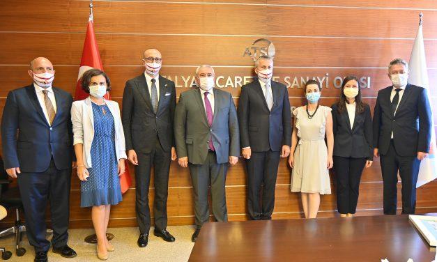 Antalya ve Romanya arasında ticaret hacmi artırılmalı