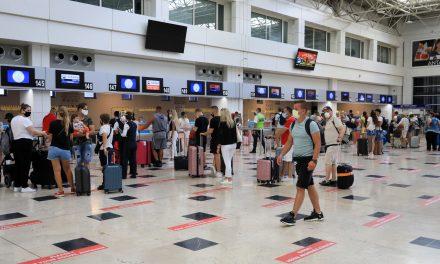 Antalya'ya eylülde gelen turist sayısı 1 milyonu aştı