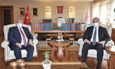 Başkan Davut Çetin, Bakan Ersoy'u Ziyaret Etti