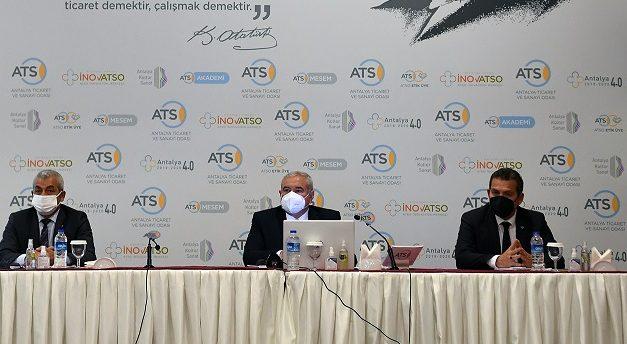 ATSO Mart Ayı Olağan Meclis Toplantısı Yapıldı