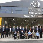 ATSO Uçak Bakım Hangarı Eğitimin Hizmetinde