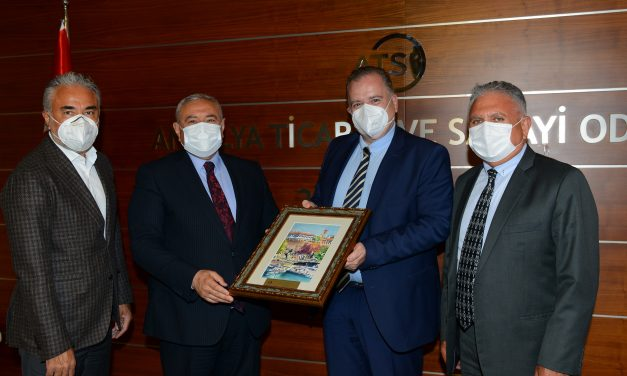 Hırvatistan Büyükelçisi Cvitanović ATSO'yu ziyaret etti