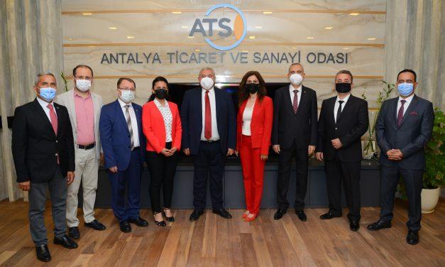 Sigortacılar ATSO'yu Ziyaret Etti