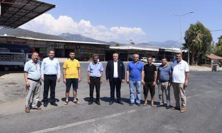 Başkan Davut Çetin Gazipaşa'da