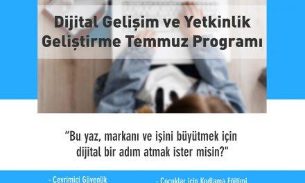 Antalya Dijital Gelişim ve Yetkinlik Eğitim Programı Devam Ediyor