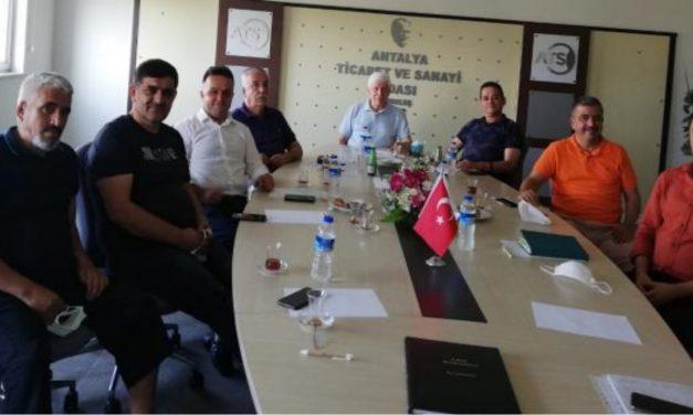 ATSO 8.Grup Meslek Komitesi Sektördeki Fire ve Zayiat Oranlarını Yeniden Belirledi